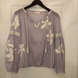 Tory Burch Embroidered Blouse